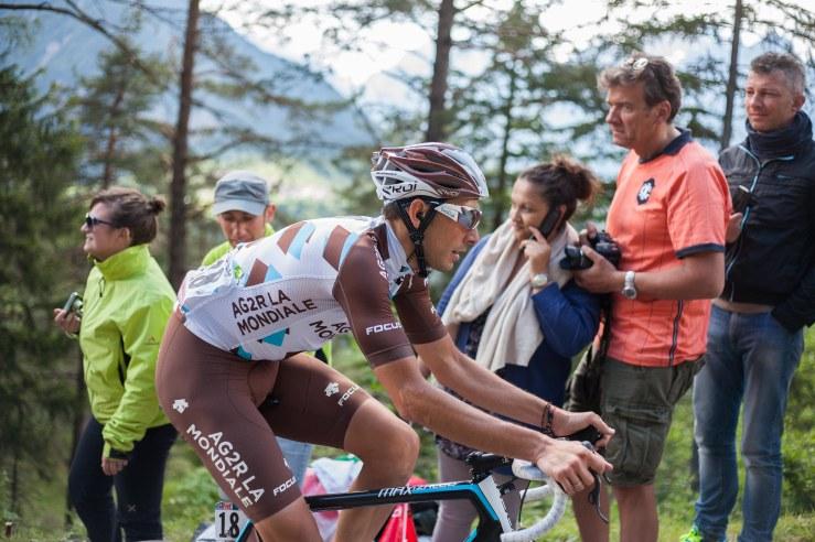 Matteo Montaguti finished the day 82nd.
