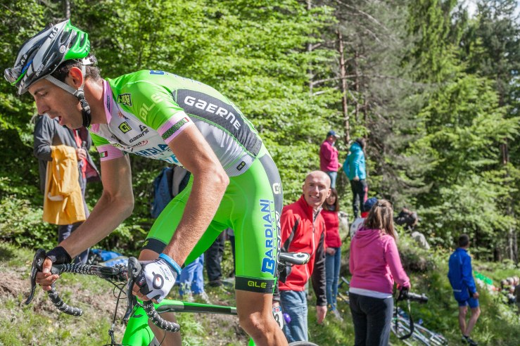 Nicola Boem from Italy finished on Monte Zoncolan 148th at 27.51 from winner Michael Rogers.