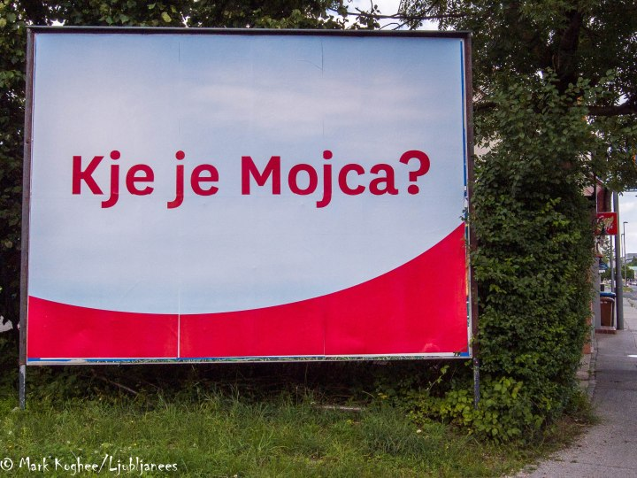 Kje je Mojca?: Where is Mocja?
