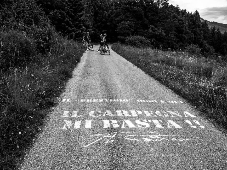 Il Carpegna mi basta!! The Carpegna is enough for me, said Pantani everytime he rode up the climb. I couldn't agree more.