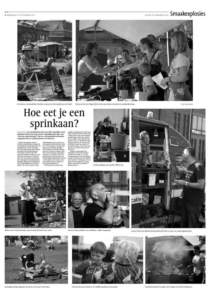 Noordhollands Dagblad 26 September 2011