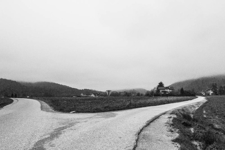 Cloudy weather is like a black and white photo, everything is the same but you see it differently.