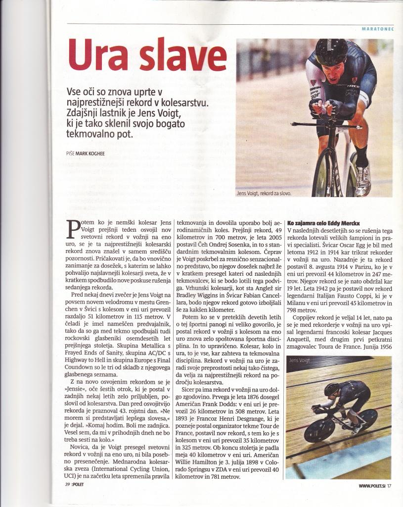Polet, magazine daily Delo. 2 Oktober 2014
