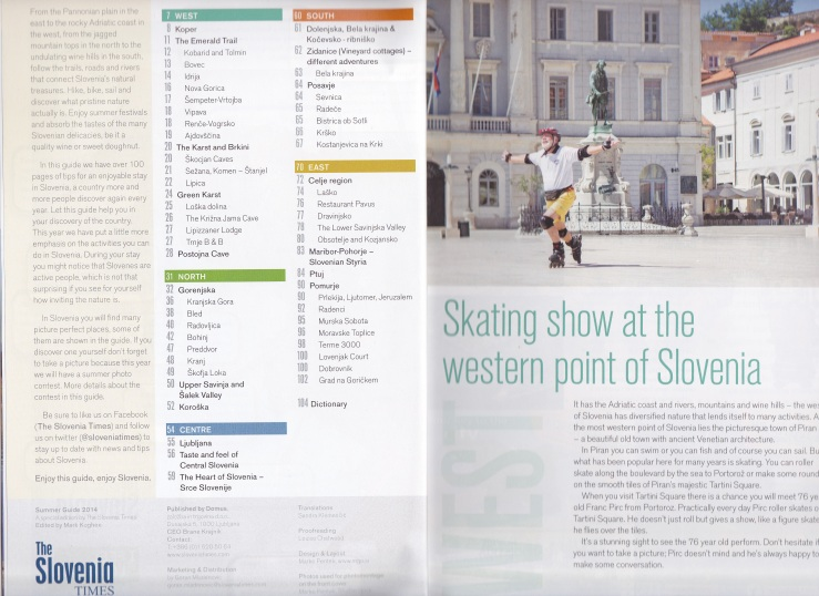 Slovenia Times Summer Guide 2014