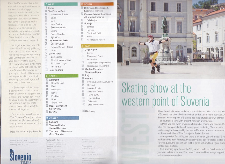 Slovenia Times Summer Guide 2014