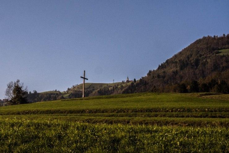 """Saint Hermagoras and Fortunatus Church, Koreno nad Horjulom.  46° 2'8.87"""" 14°17'38.04"""""""
