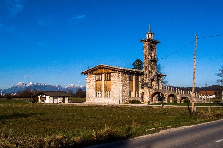 "Saint Michael Church, Çrna Vas.   46° 0'44.92""  14°30'20.97"""